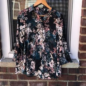 XS Macy's Jones New York Blouse